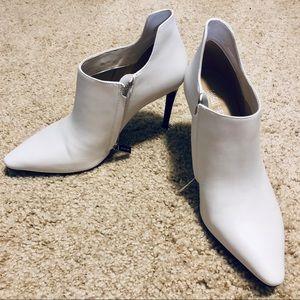 "White Michael Kors 3"" Stiletto Booties"